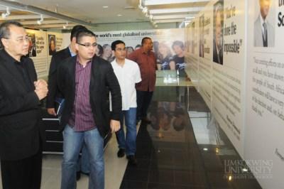 Visit by CEO of MyCreative Ventures Sdn Bhd, Johan Ishak ...
