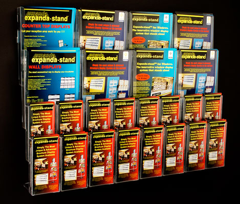 Magazine Catalogue Holders   A4 A5   DL Brochure Holders Wall Mounted A4 A5   DL Brochure Holders Wall Mounted