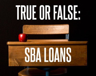 True or False: SBA Loans to Educational Services Businesses