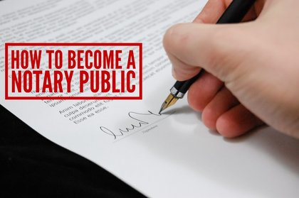Notary Public Educational Information Secretary Of State | Autos Post