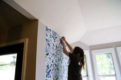 How to Install Wallpaper (Plus an Anthropologie Wallpaper Review)