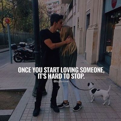Once You Start Loving Someone, It's Hard To Stop Pictures, Photos, and Images for Facebook ...