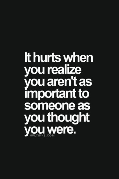 It Hurts When You Realize Pictures, Photos, and Images for Facebook, Tumblr, Pinterest, and Twitter