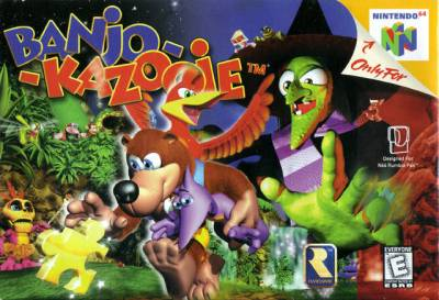 Banjo Kazooie Nintendo 64 Game - Original and Authentic