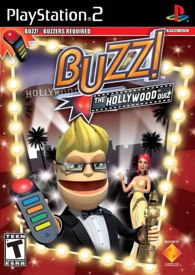 Buzz!: The Hollywood Quiz Sony Playstation 2 Game