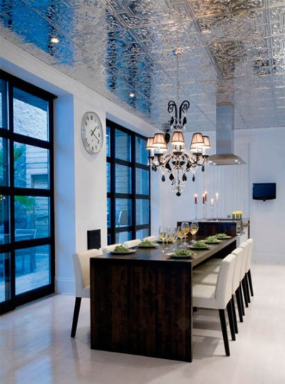 Ceiling Designs, 15 Ideas for Ceiling Decorating with Modern Wallpaper