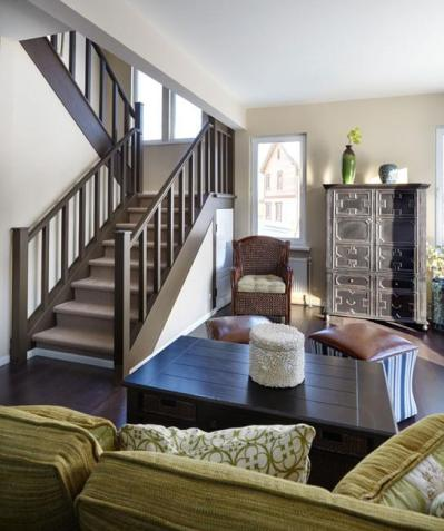 Beautiful Interior Design in Family Oriented American Style