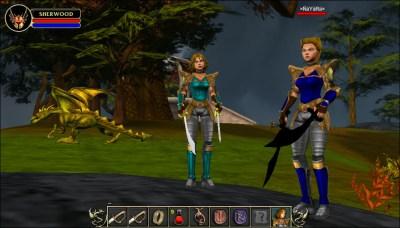 Maid Marian MMORPG - Massive Multiplayer Web Games