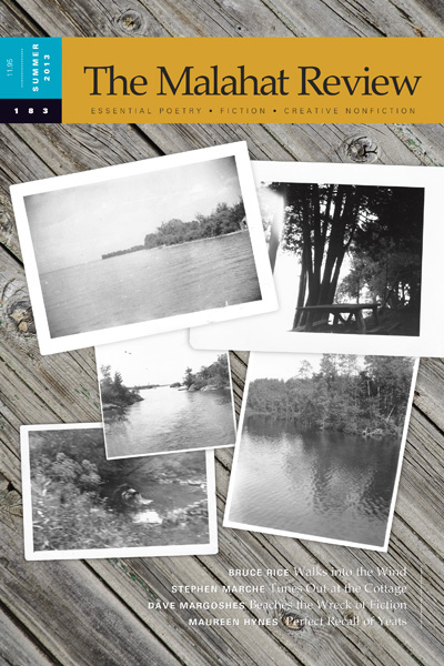 The Malahat Review issue #183