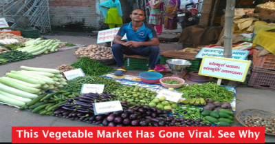 Lucknow Vegetable Market Goes Viral & The Reason Will ...