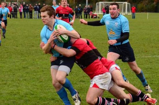 Rugby, UBL Division 2 League   Maynooth University