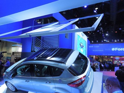 New Solar Car Concept Shines at Electronics, Cars Shows | The George W. Woodruff School of ...
