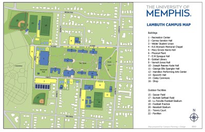 Parking at the University of Memphis Lambuth & Millington Campuses - Parking & Transportation ...