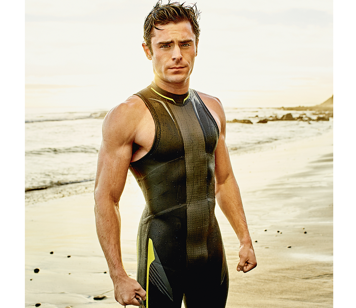 Zac Efron s Go to Foods for Getting a  Baywatch  Body