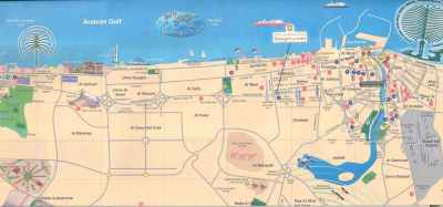 DUBAI MAP - Letters & Maps