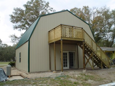 Steel Frame Gambrel Type Homes Starting from $19,950 (HQ ...