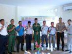 Wan Samsi dan Wakil Wali Kota Tanjungpinang, Syahrul foto bersama