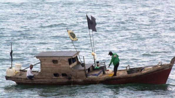 Ilustarsi kapal nelayan