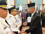 Gubernur Kepri, HM Sani mengucapkan selamat kepada tiga Plt Bupati yang baru dilantik.