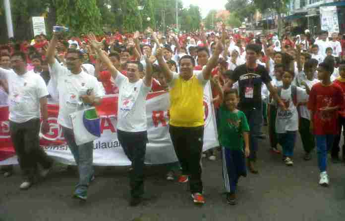 Pelepasan jalan santai PT Pelindo Tanjungpinang