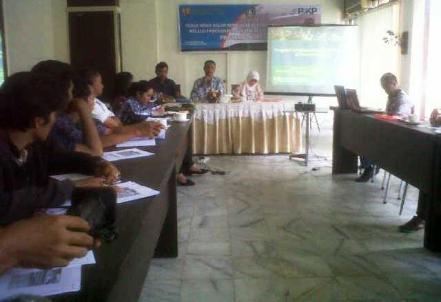 Workshop P2KP bersama Insan Pers
