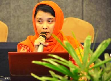 Mantan Dirut BUMD Kota Tanjungpinang, Eva Amalia