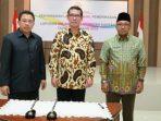Lis bersama Kepala BPK Perwakilan Kepri dan Ketua DPRD Kota Tanjungpinang