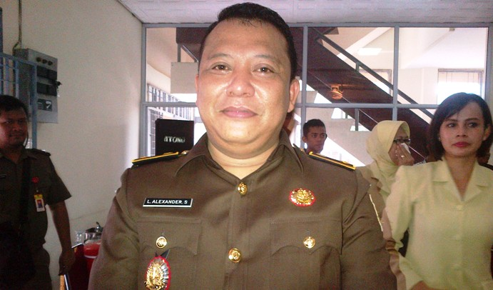 Kasi Pidsus Kejari Tanjungpinang, Lukas Alexander. Foto NOVENDRA