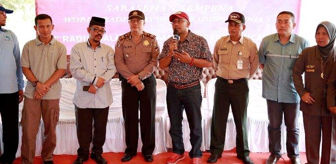 Lis saat dialog interaktif di RRI Tanjungpinang