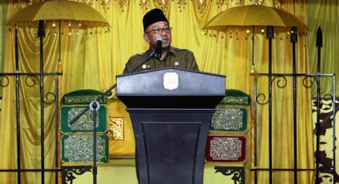 Wali Kota Tanjungpinang, Lis Darmansyah saat membuka FPP