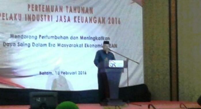 Asisten II Ekonomi dan Pembangunan Provinsi Kepri Syamsul Bahrum