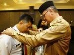 Wakil Wali Kota Tanjungpinang, Syahrul mengucapkan selamat kepada peserta Diklat