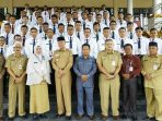 Wakil Wali Kota Tanjungpinang, Syahrul saat Foto bersama peserta Diklat Prajabatan