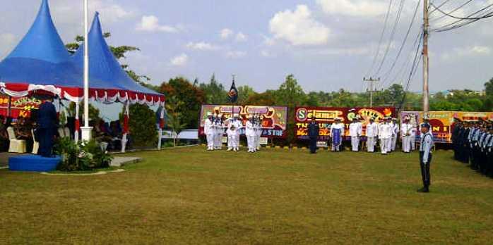 Apel HUT TNI AU ke 70 tahun. Foto SYAIFUL AMRI