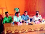 Anggota DPD RI, Haripinto Saat Reses di Kecamatan Lingga Utara. Foto YUDI