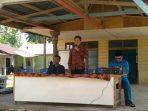 Anggota DPRD Lingga, Mudassir Zahid Saat Reses di Desa Kuala Raya.Foto NAZILI