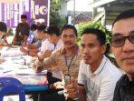 Suasana Pemilihan Ketua RT dan RW Secara Serentak. Foto ROSJIHAN HALID