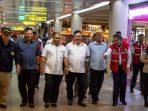 Rombongan Komisi III DPRD Kepri Saat Meninjau Bandara Hang Nadim Batam