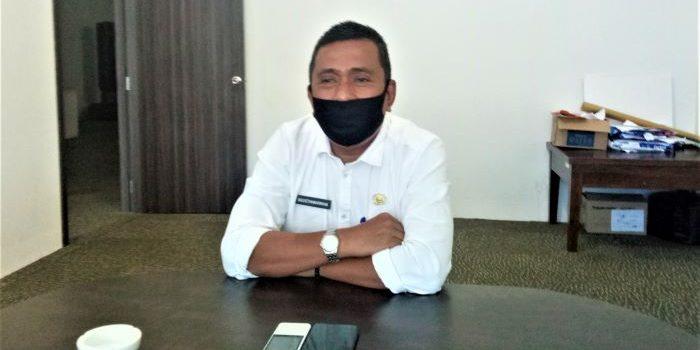 Kadispora Kota Tanjungpinang, Agustiawarman Saat Diwawancara MetroKepri