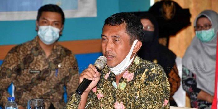 Staf Ahli Bidang Kemasyarakatan dan Sumberdaya Manusia, Muhammad Alim Sanjaya mengikuti acara proses penilaian ajang Innovation Goverment Award (IGA) 2020
