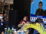 Wali Kota Tanjungpinang, Rahma Saat Menyampaikan Sambutannya Diacara Cofee Morning