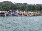 Lokasi pemilik Kapal Pukat yang sekaligus menjual BBM jenis Solar Subsidi
