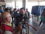 Ketua Komisi III DPRD Kepri, Widiastadi Nugroho Saat Sidak di Bandara Hang Nadim Batam