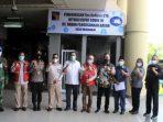 Rombongan Komisi III DPRD Kepri Foto Bersama Usai Sidak di Bandara Hang Nadim Batam