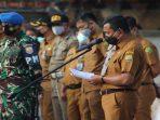 Kadispora Kota Tanjungpinang, Agustiawarman Saat Menyampaikan Arahannya