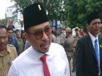 Ketua DPRD Kota Batam, Nuryanto Saat Diwawancarai Usai Rapat Koordinasi
