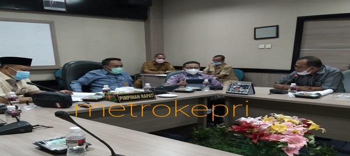 Anggota Pansus RPJMD 2021 - 2026 Saat Rapat Internal