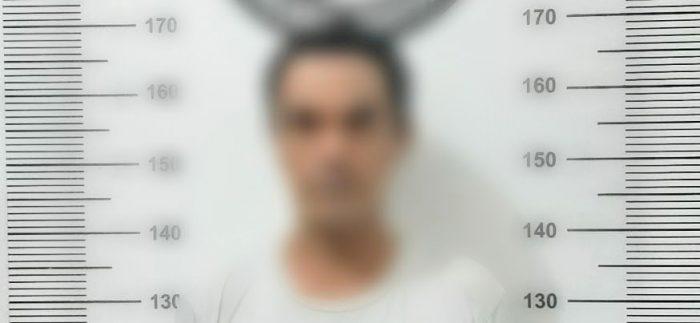 Pelaku JH Saat Diamankan Di Satresnarkoba Polres Tanjungpinang