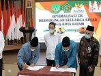 Wakil Wali Kota Batam, Amsakar Saat Menyaksikan Penandatanganan Kerjasama
