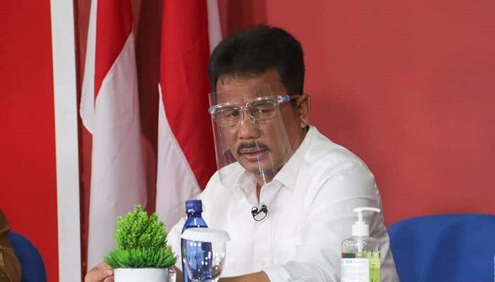 Wali Kota Batam, Muhammad Rudi Saat Acara Dialog